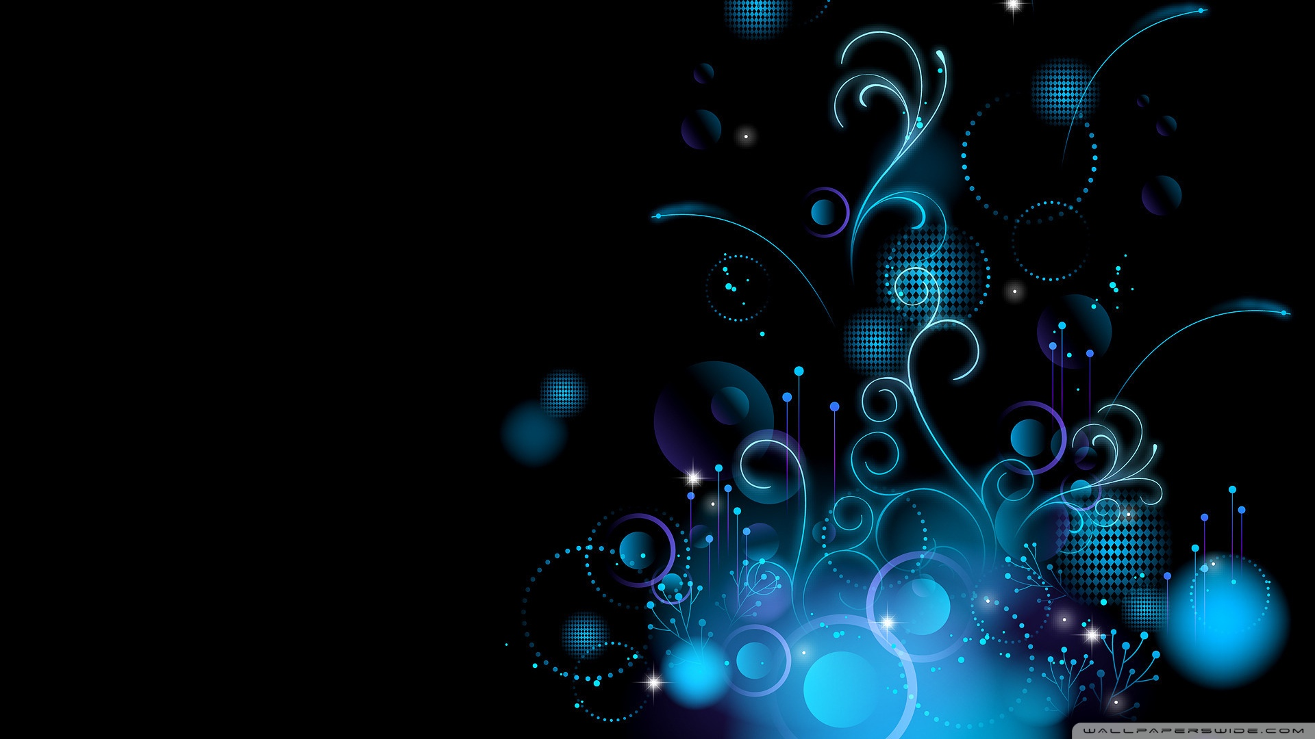 Colección Blue Design HD wallpapers
