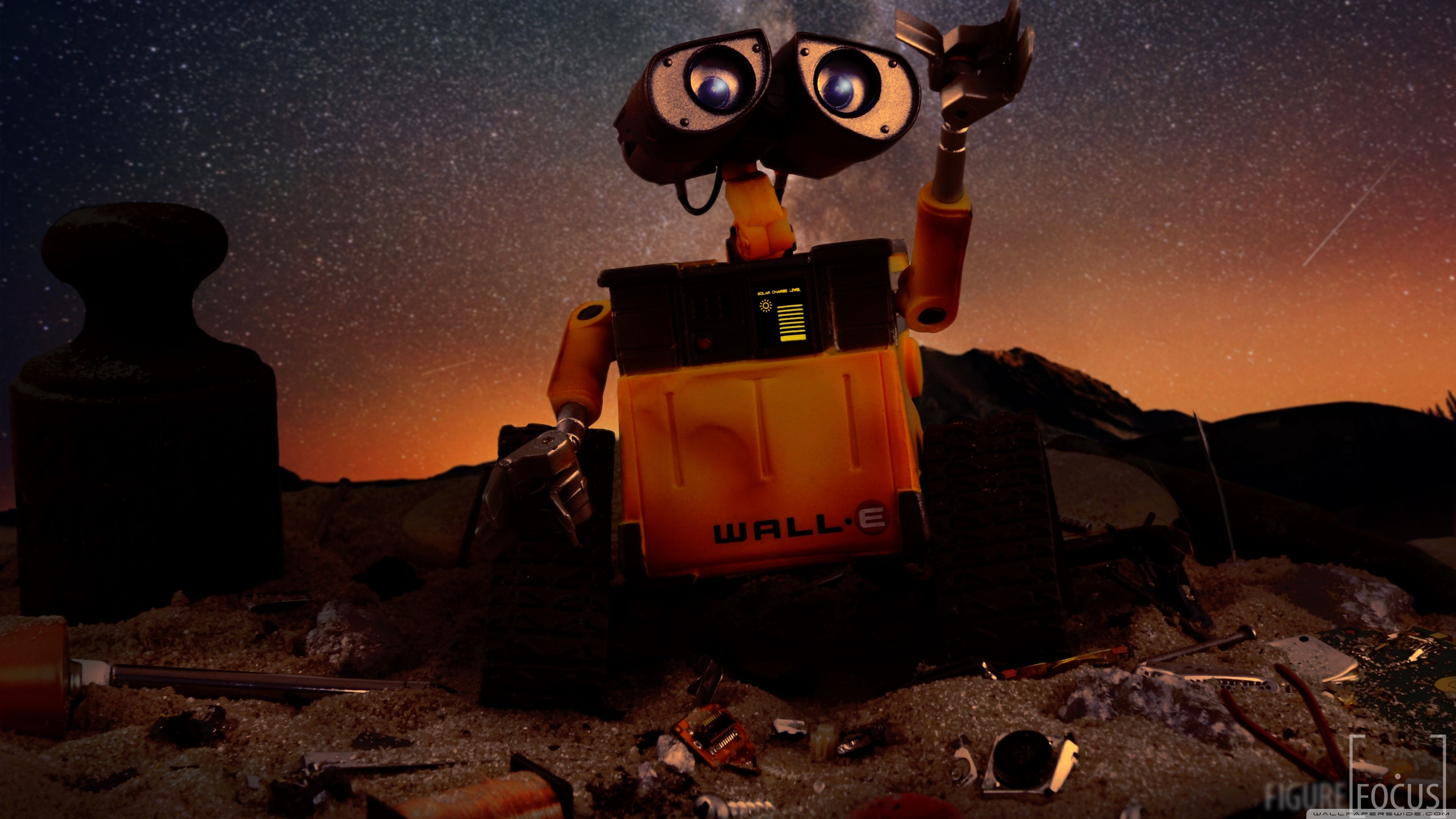 WALL-E Robot ❤ Fondo de escritorio 4K HD para TV 4K Ultra HD • Amplio