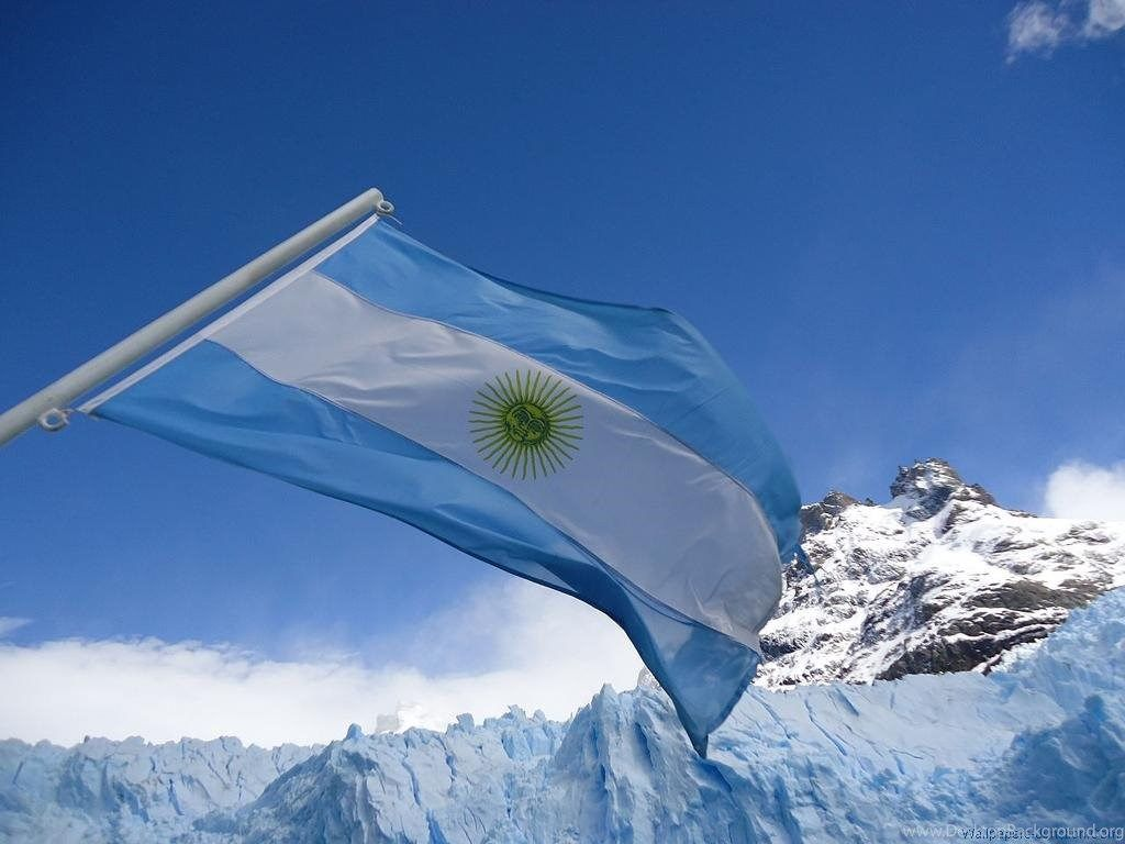 Argentina Flag Fly In Mountain Wallpapers HD Desktop Background