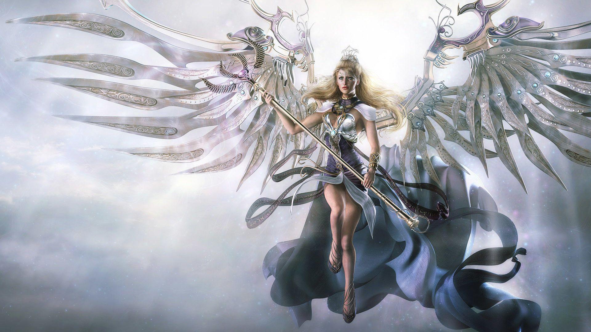 Fondos de pantalla de ángeles - FondosMil