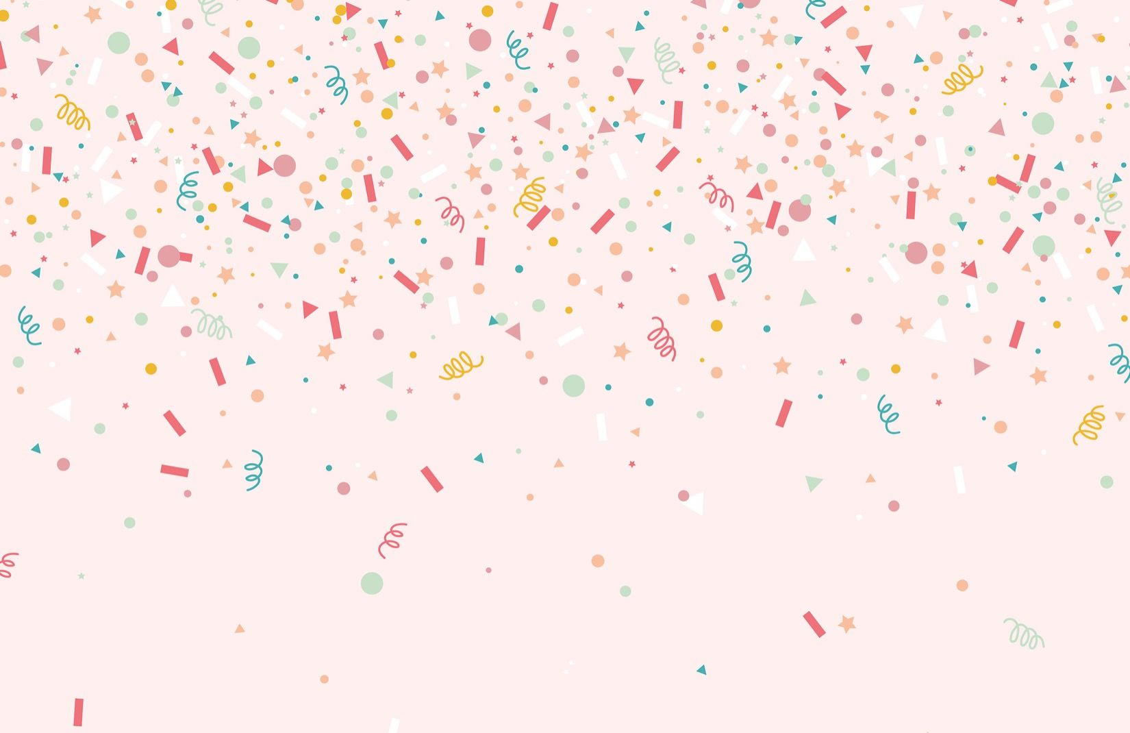 Confetti Party Wallpaper | Sprinkle Design | Murales