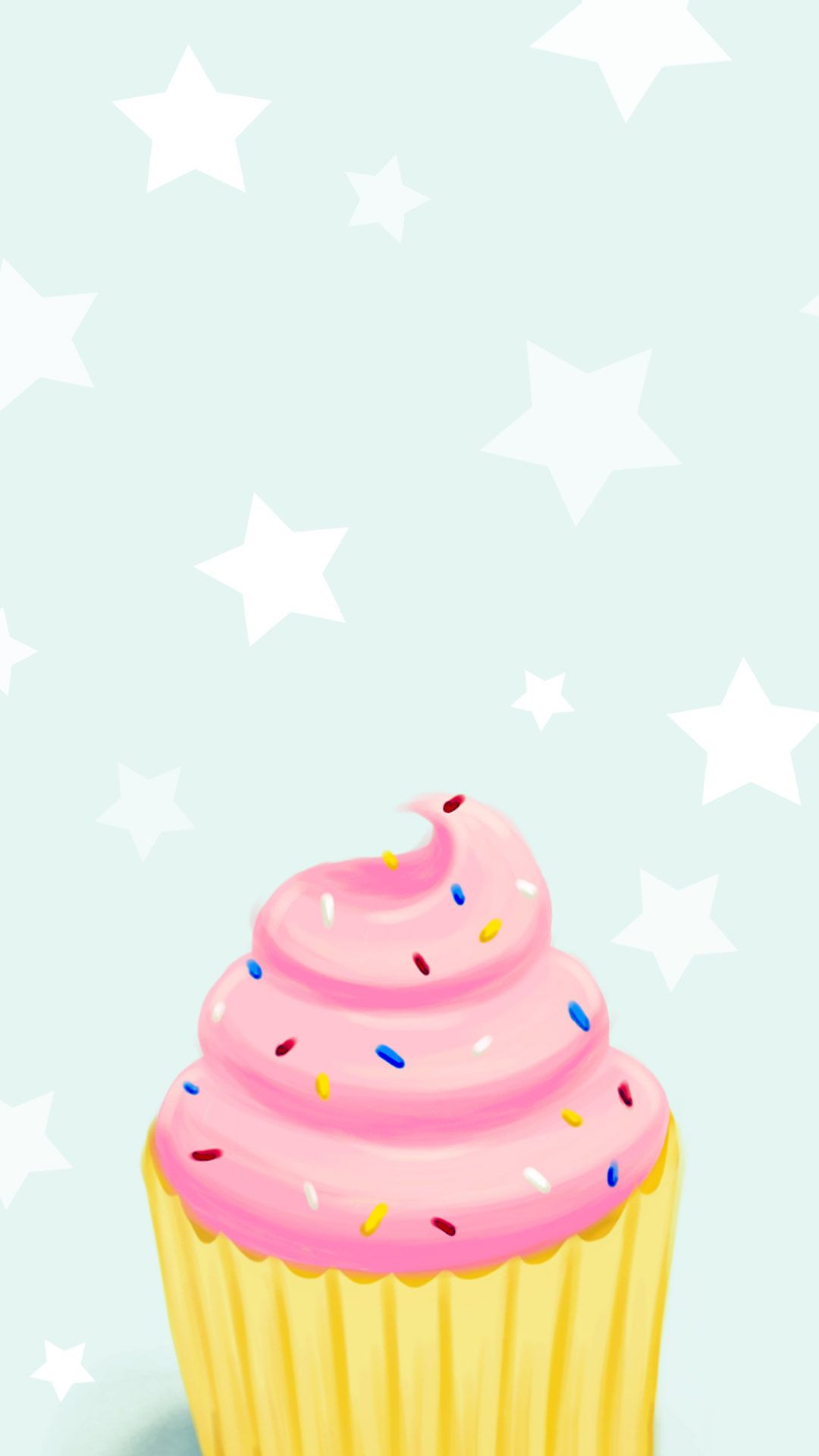 Pin de Jane Richardson en Phone Wallpapers | Fondo de pantalla de cupcakes
