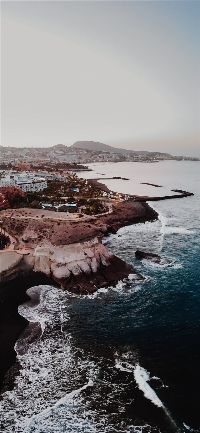 Tenerife España iPhone X fondo de pantalla #city #dream #holiday #Travel
