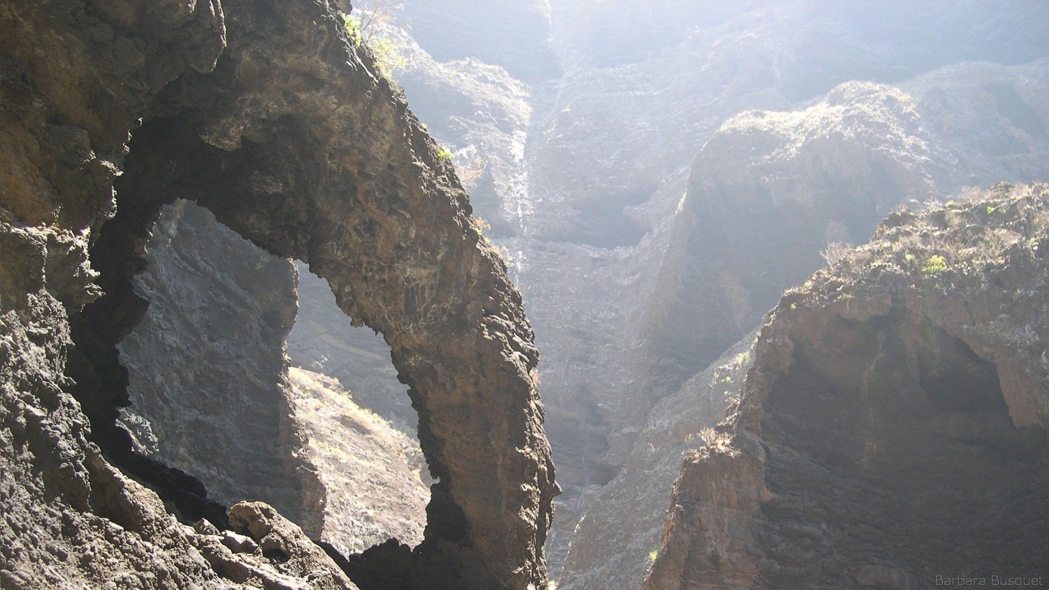 Garganta de Masca en Tenerife - Barbaras HD Wallpapers