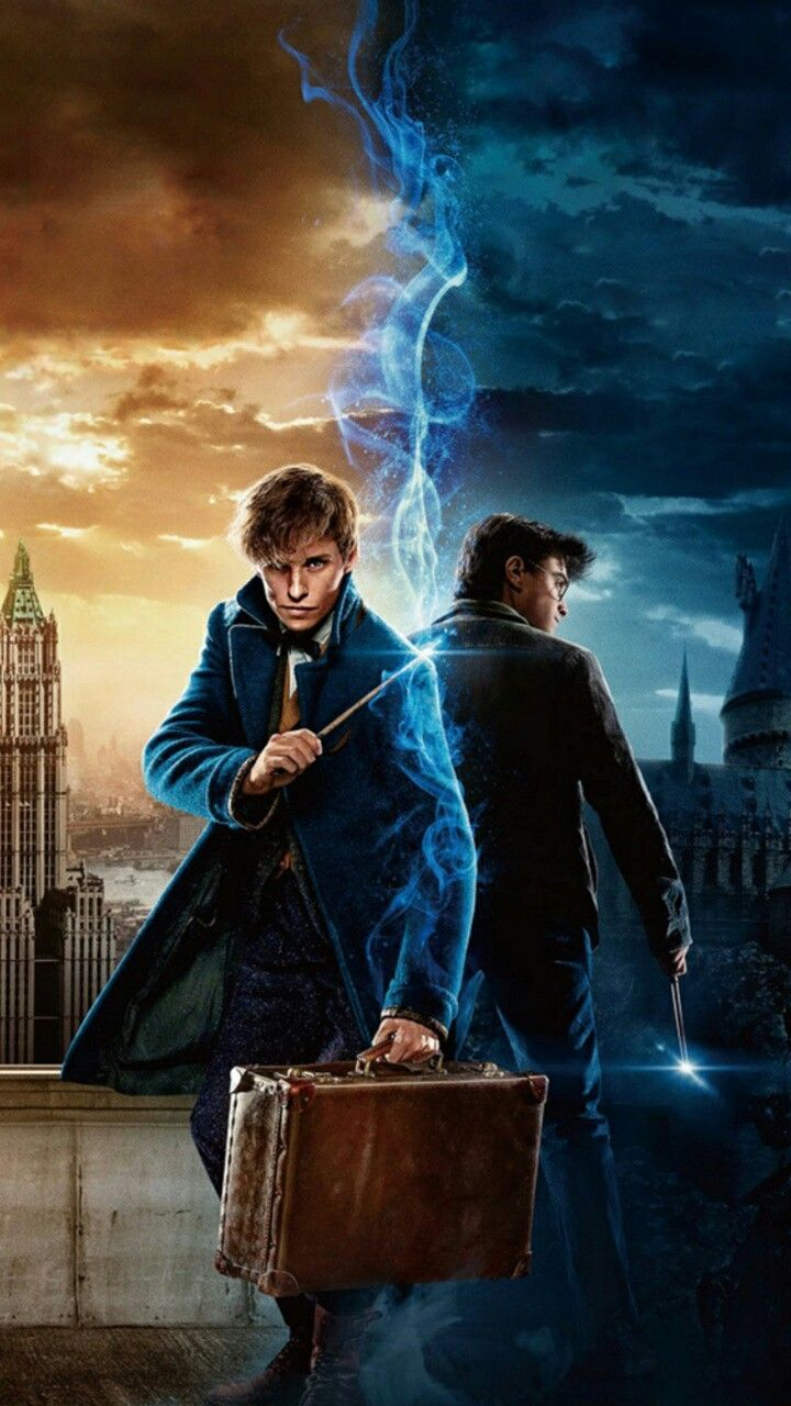 720x1280 Harry Potter Wallpapers Hd - Harry Potter y Newt Scamander