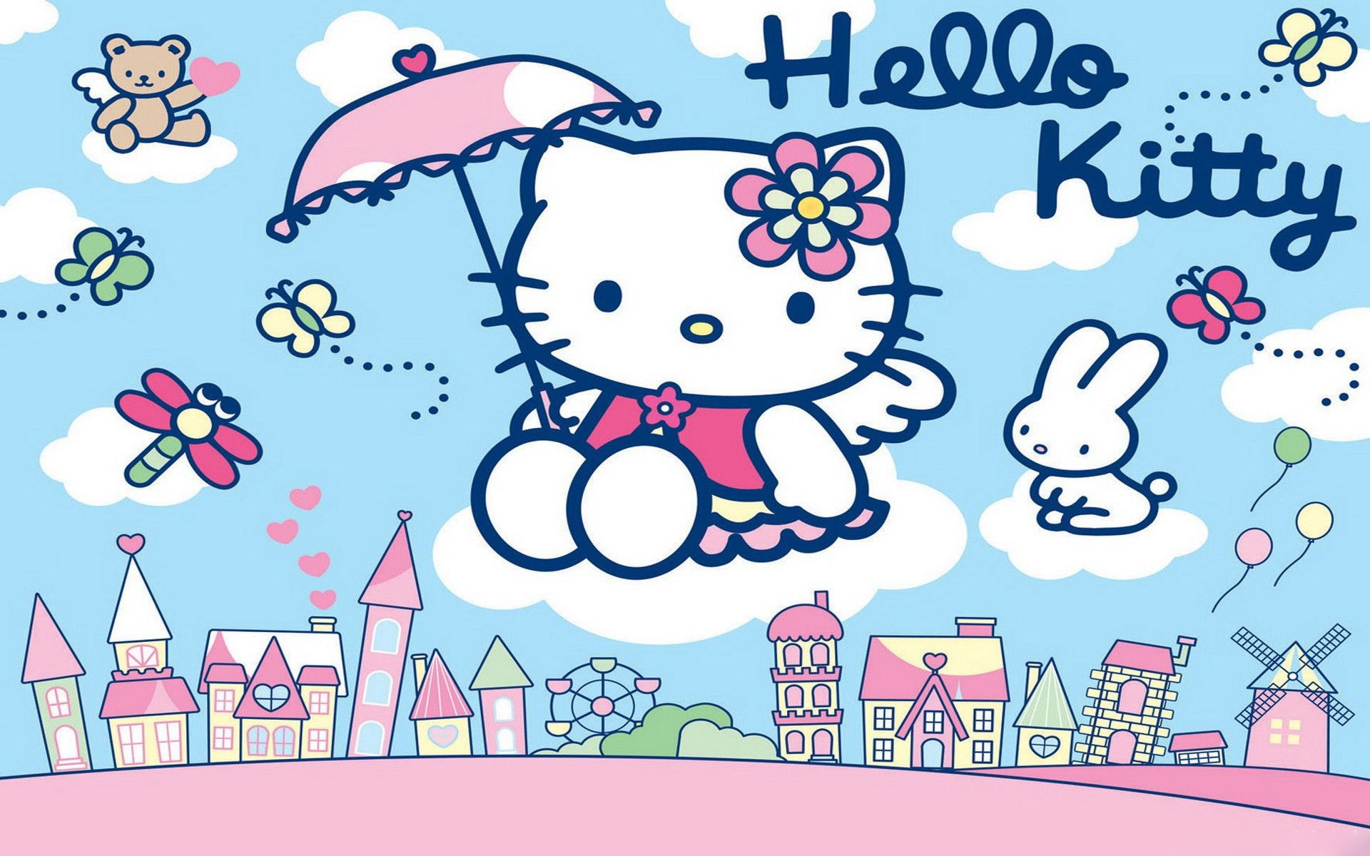 Hello Kitty HD Wallpapers New Tab Theme - PlayTime