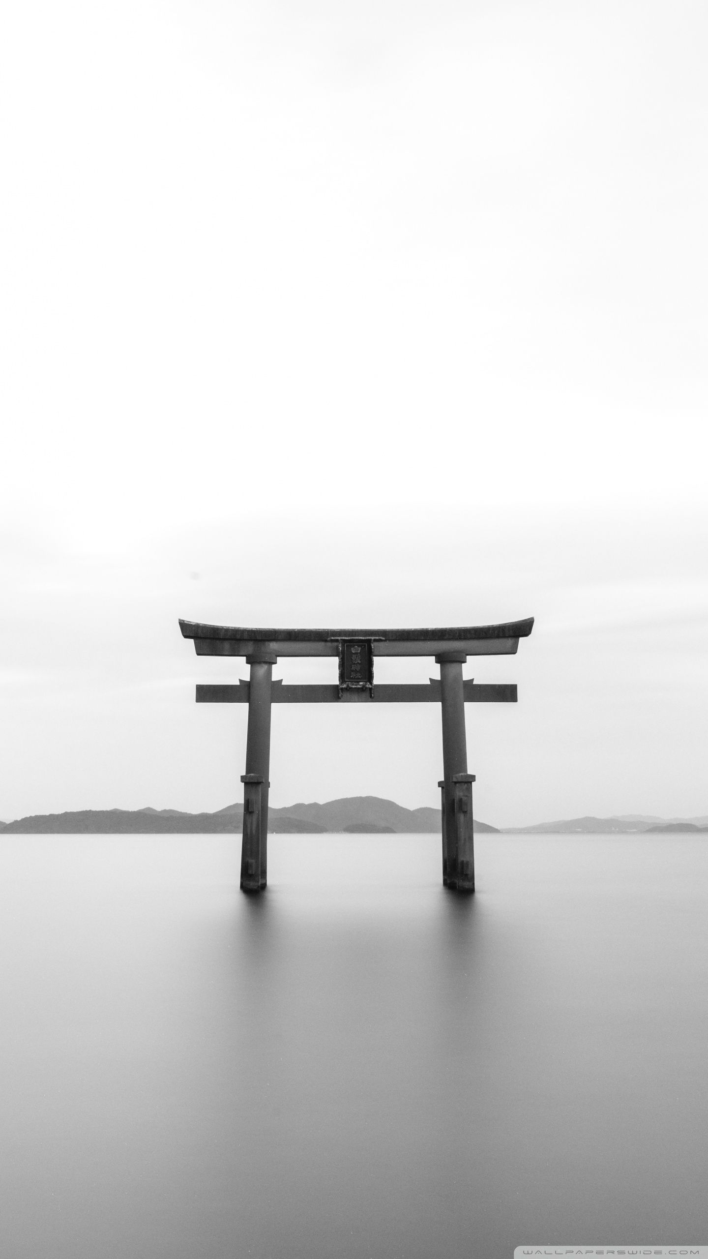 Torii Black and White ❤ 4K HD Desktop Wallpaper para 4K Ultra HD TV