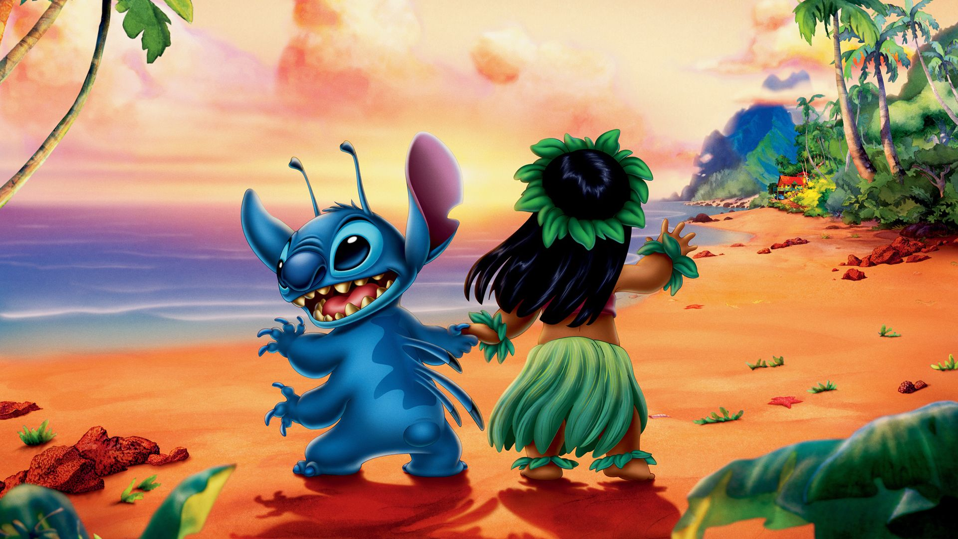 Lilo and Stitch HD fondo de pantalla 1920x1080