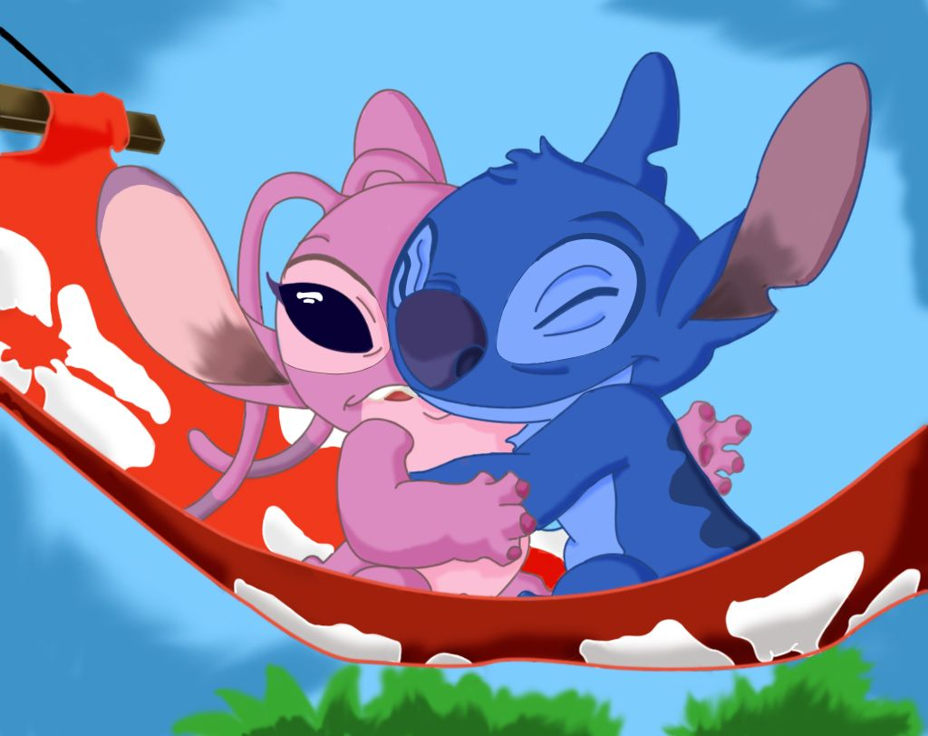 Lilo and atitch lilo and stitch angel vector cartoon hd fondo de pantalla