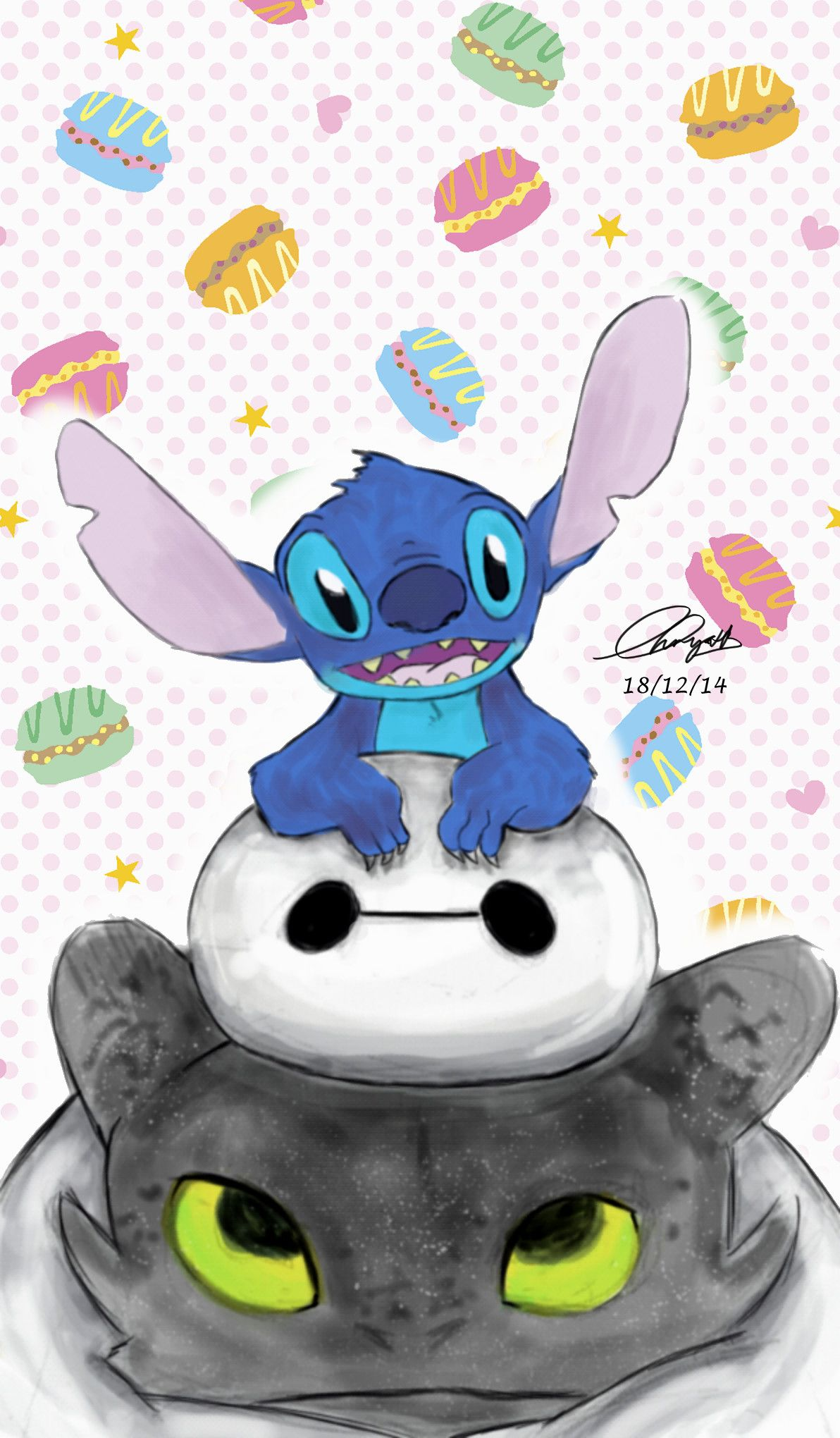 Impresionante Lilo Stitch Wallpapers Gallery para ti | Tapet de pomelo