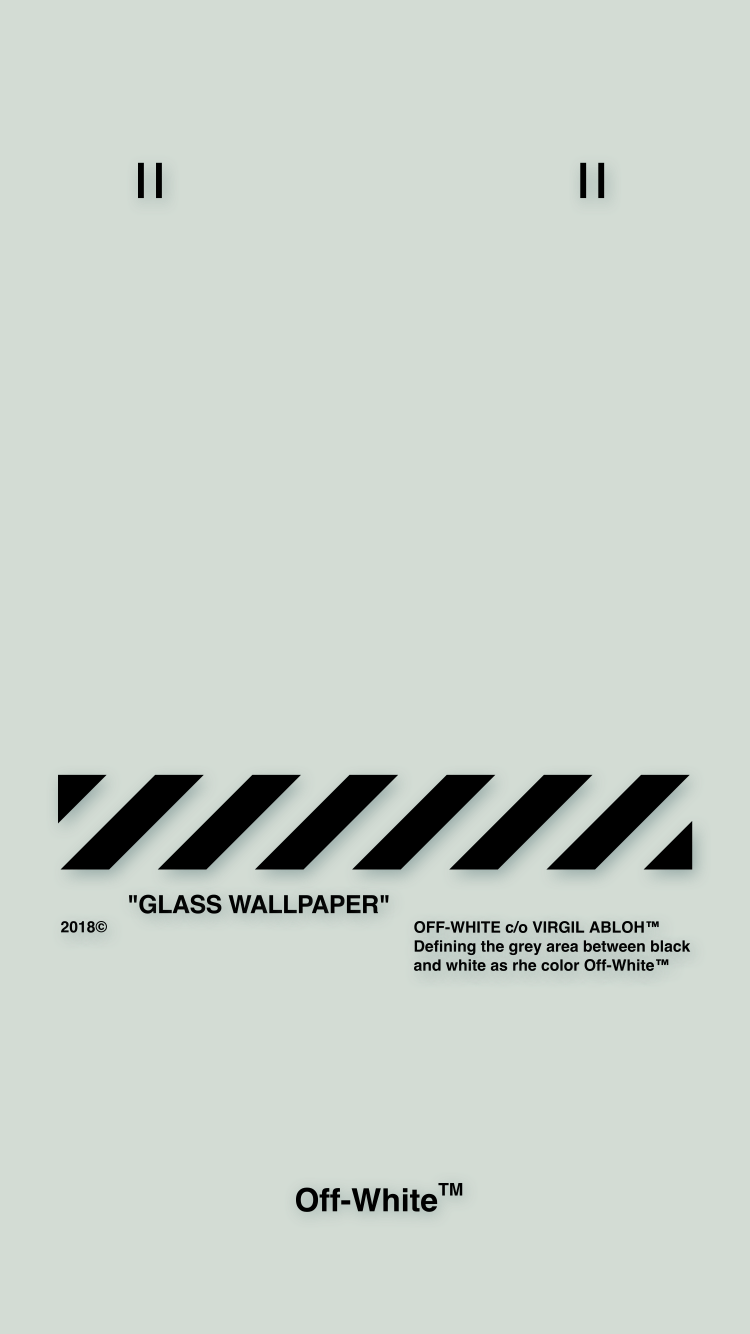 Off-White ™ PAPEL PINTADO IPHONE /5 18/5/2