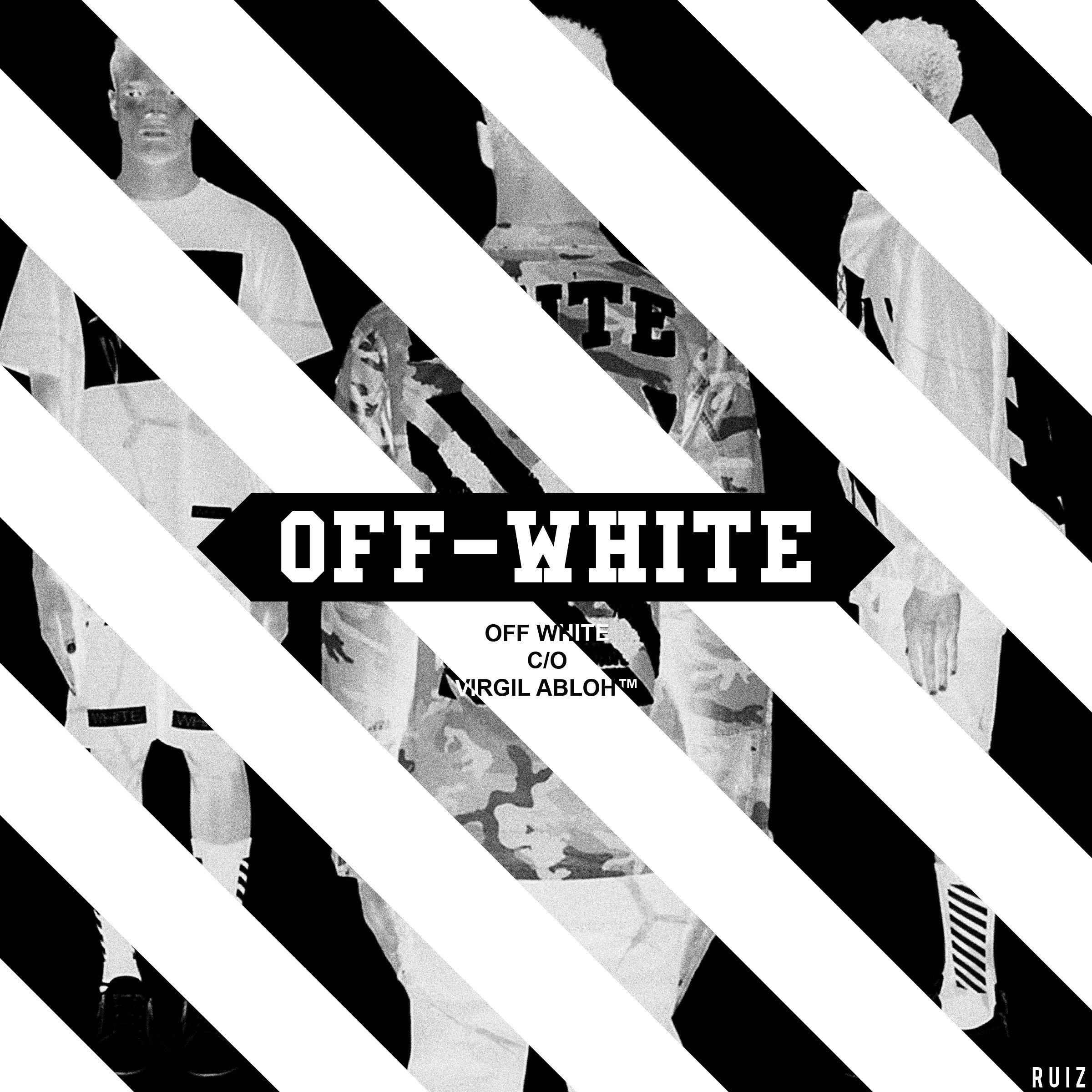 Tamaño completo de Off White Wallpaper - Off White Clothing Background