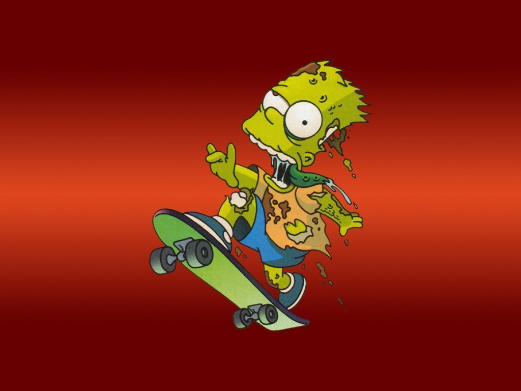 Bart Simpson Skateboard Wallpapers - Top gratis Bart Simpson