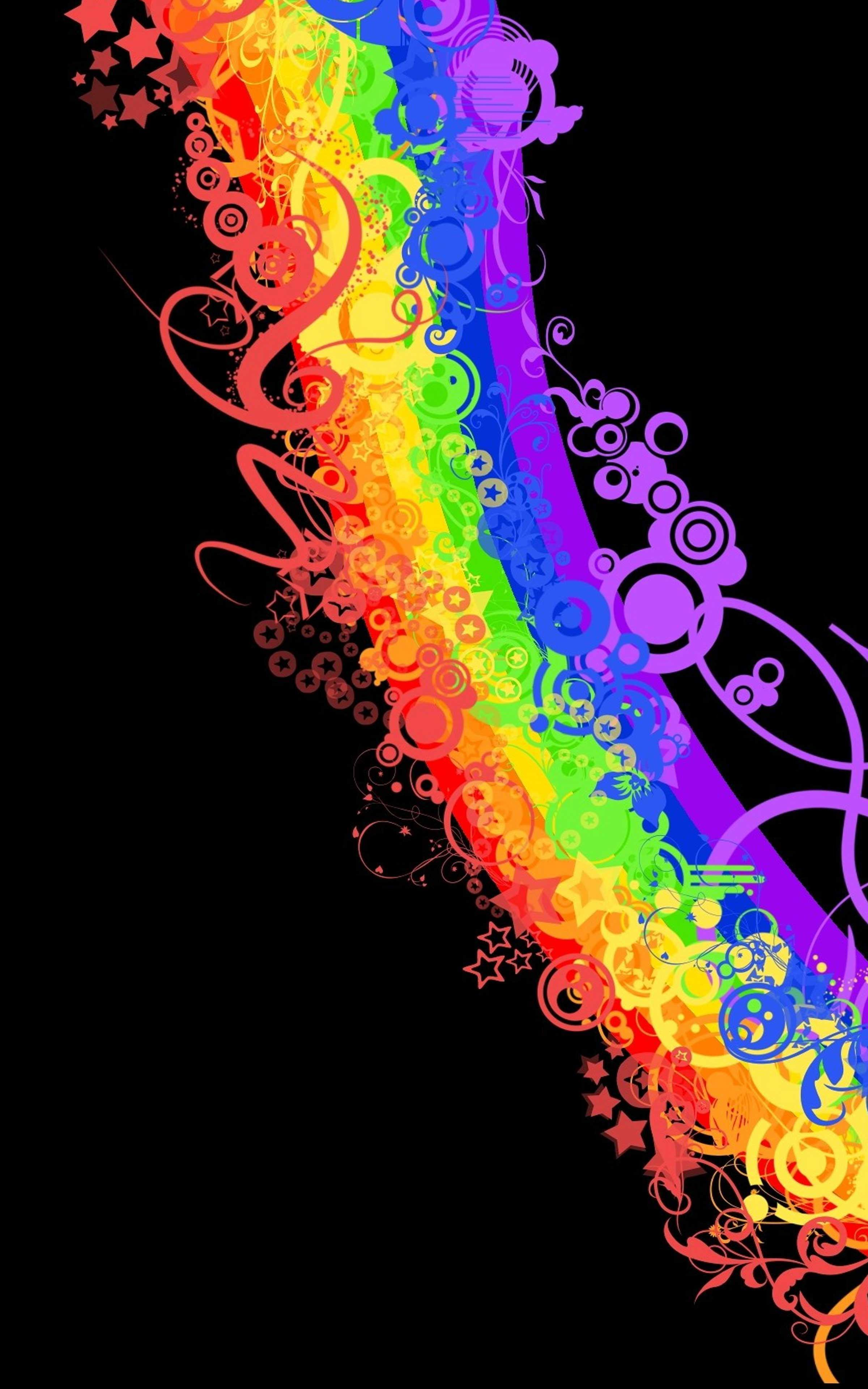 Rainbow Wallpaper For Walls - Rainbow Wallpapers para Android - APK