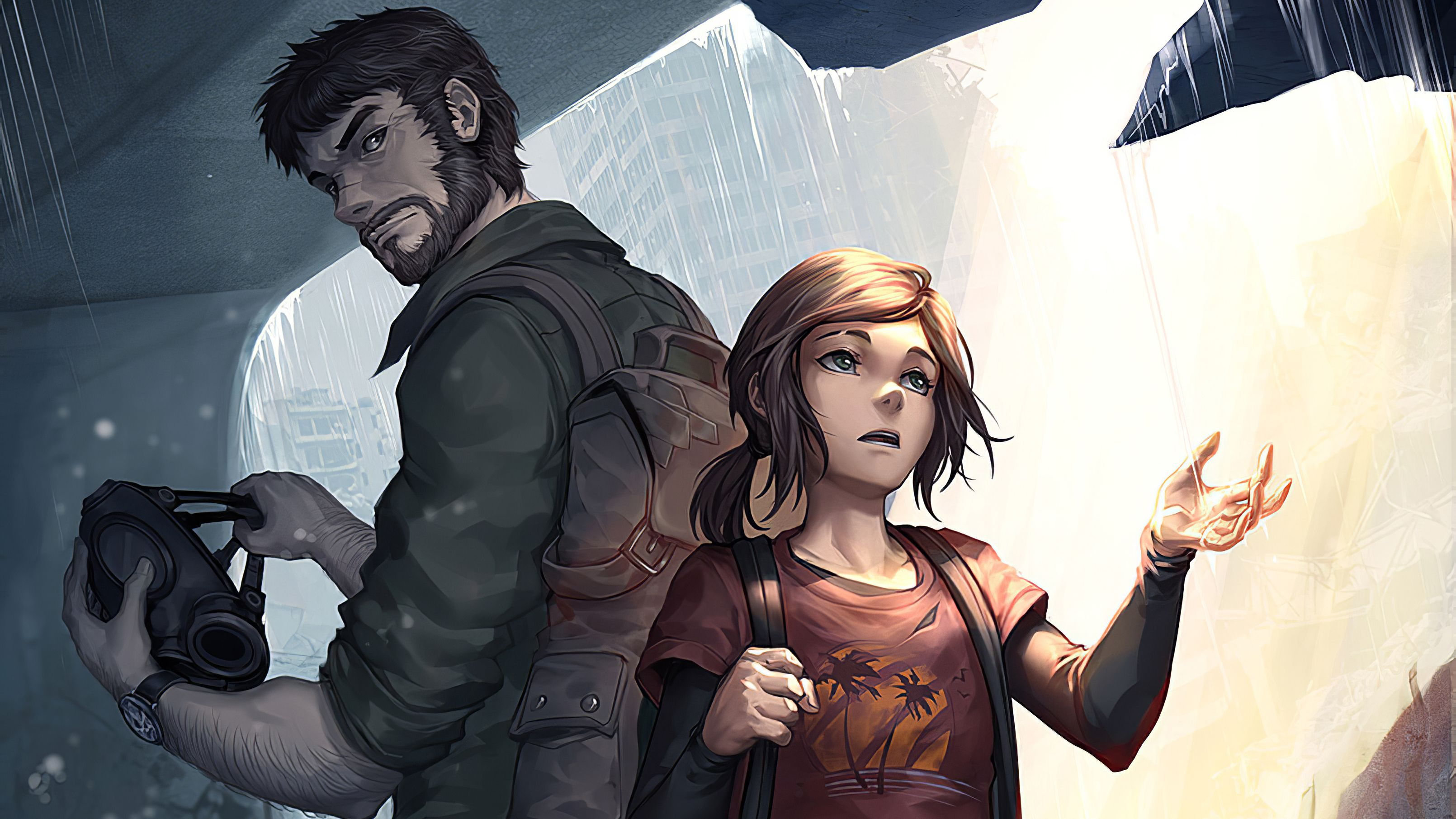 Fondo de pantalla de The Last of Us 3220x1811