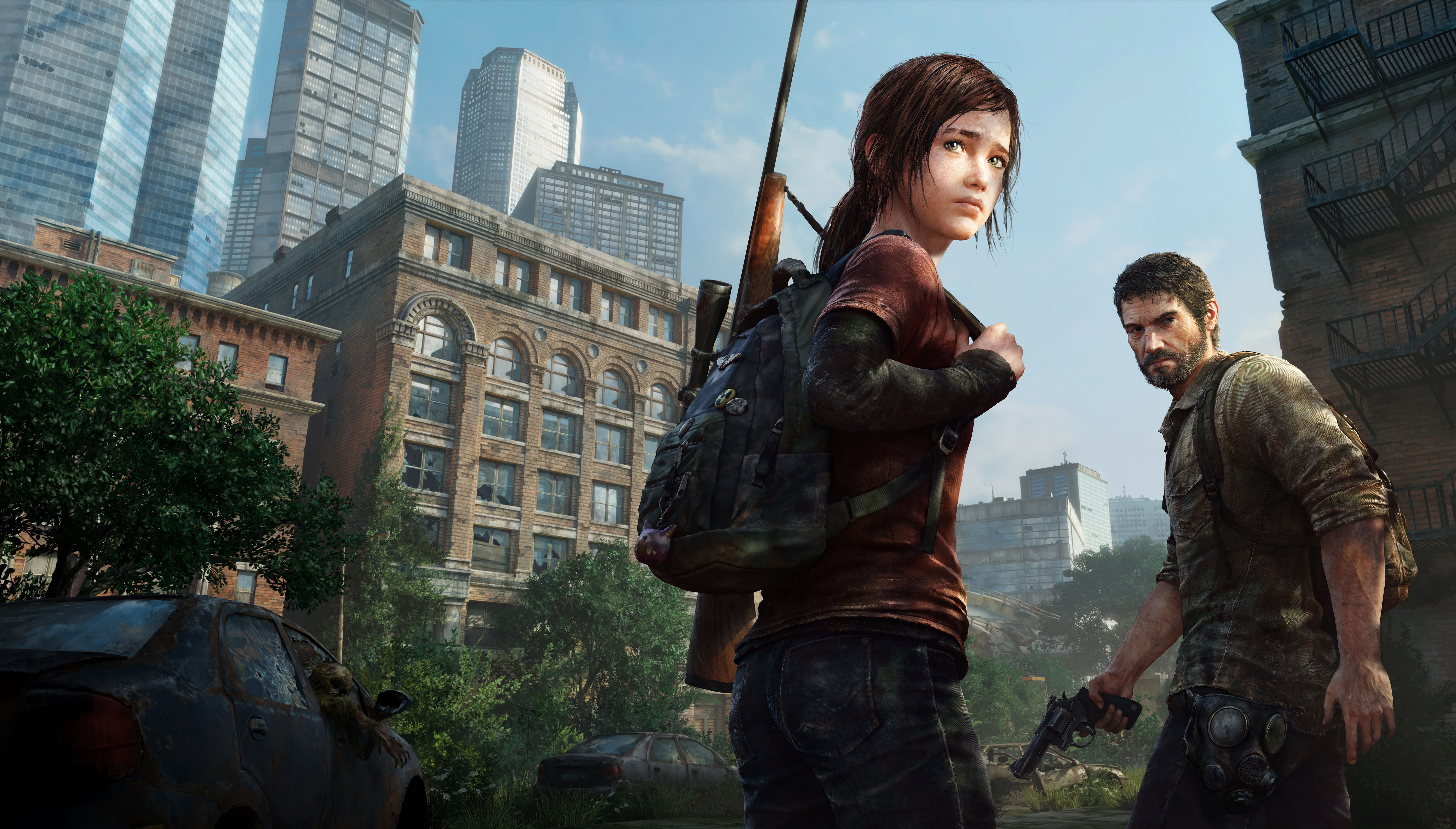 Fondo de pantalla de The Last of Us 6000x3418
