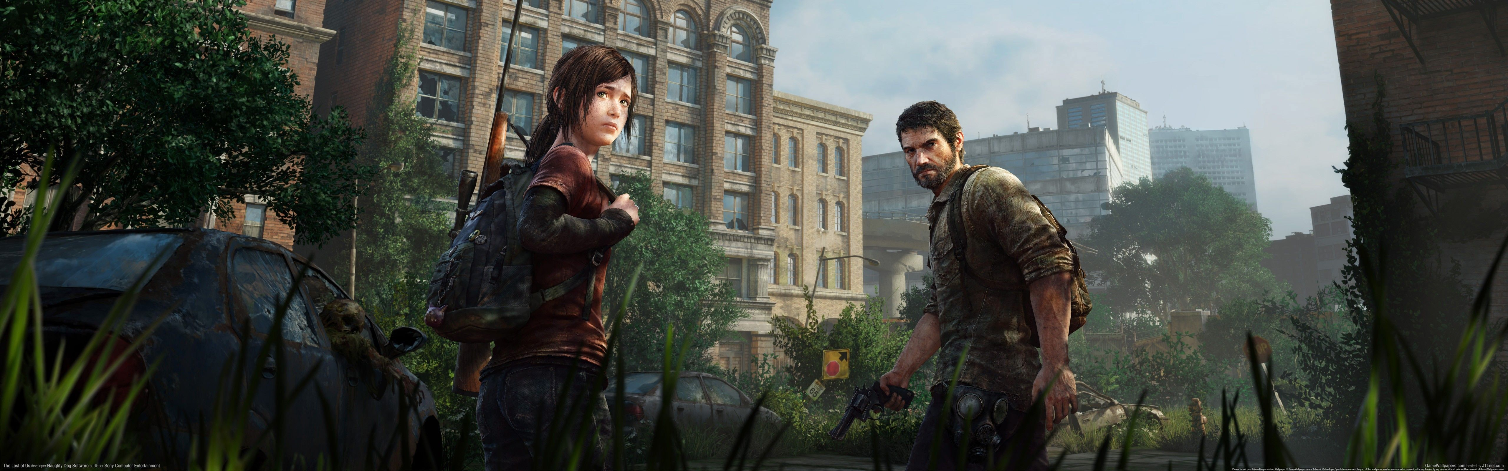 Fondo de pantalla de The Last of Us 5120x1600