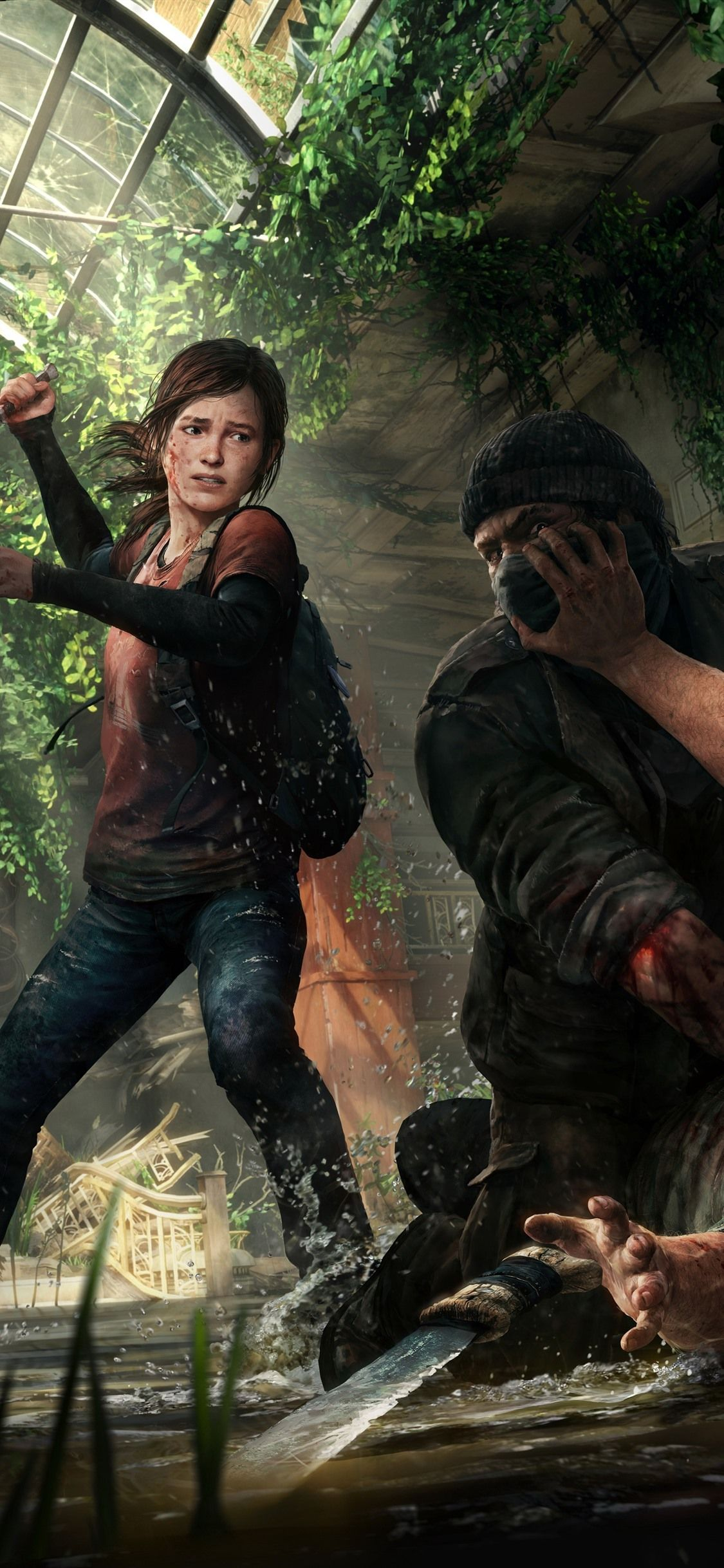 Fondo de pantalla de The Last of Us 1125x2436