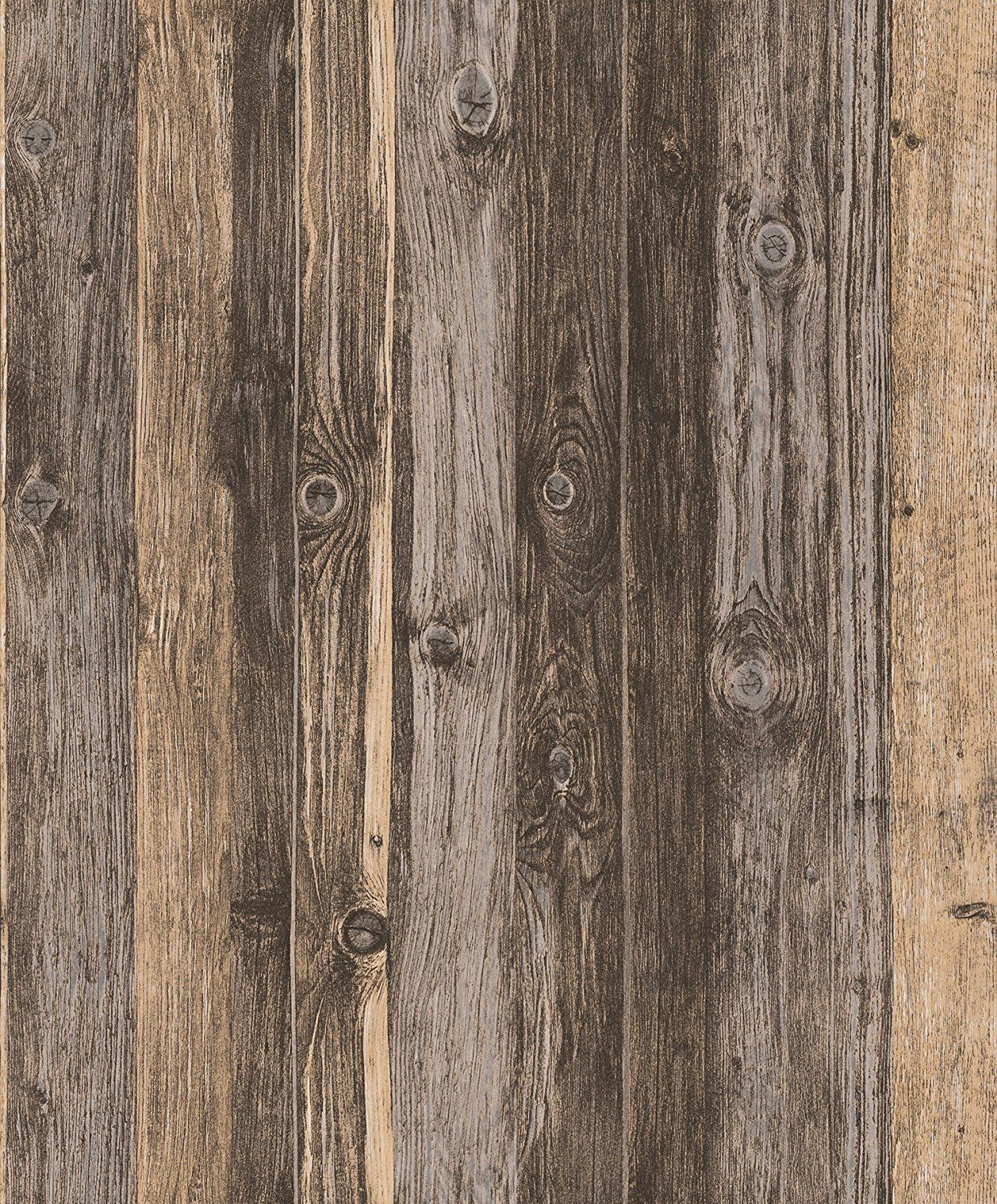 Blooming Wall 910707 Faux Multicolor Vintage Barnwood tablón de madera