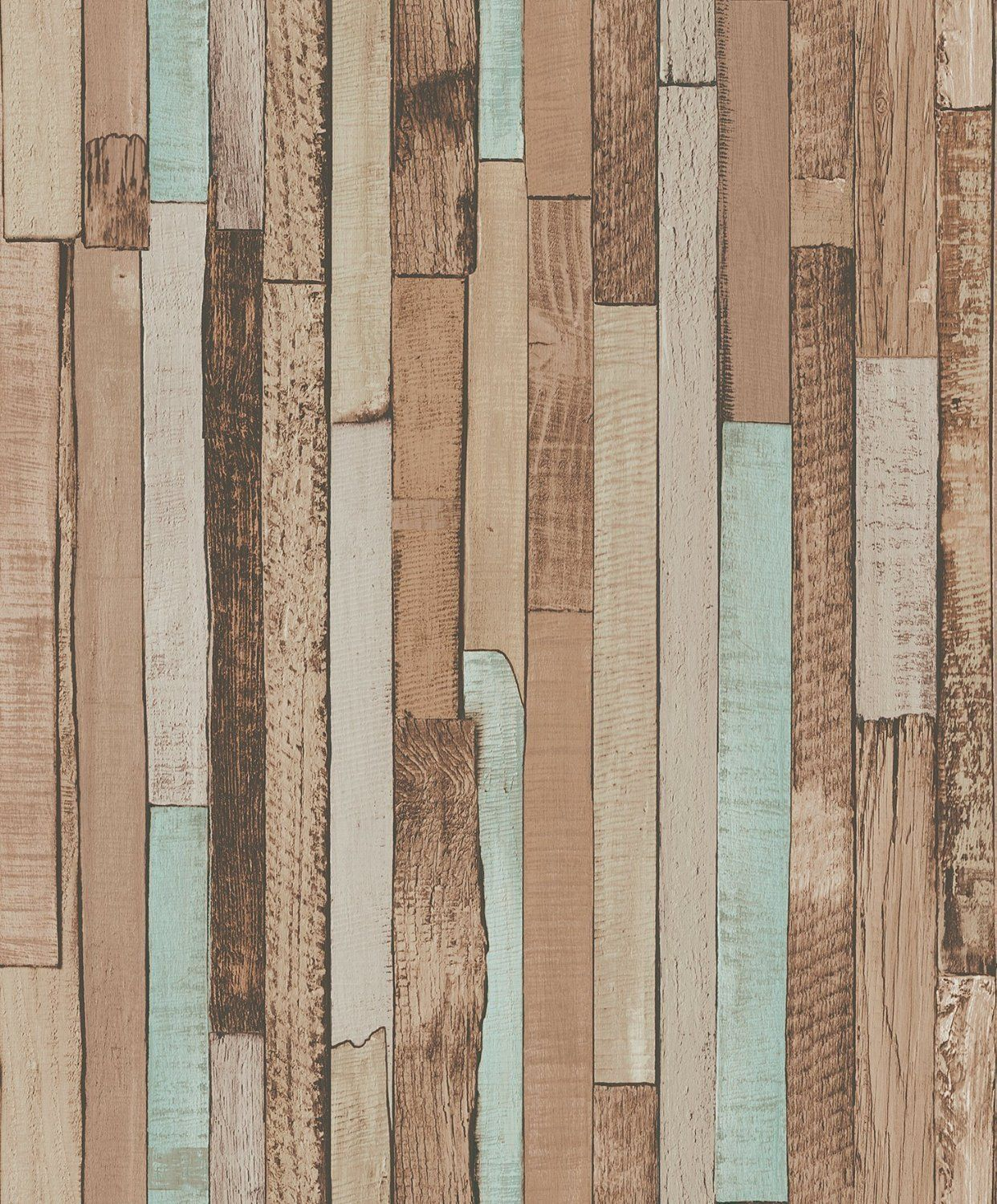 Blooming Wall - Papel pintado de madera de color vintage, 20.8 In32.8 Ft = 57 Sq
