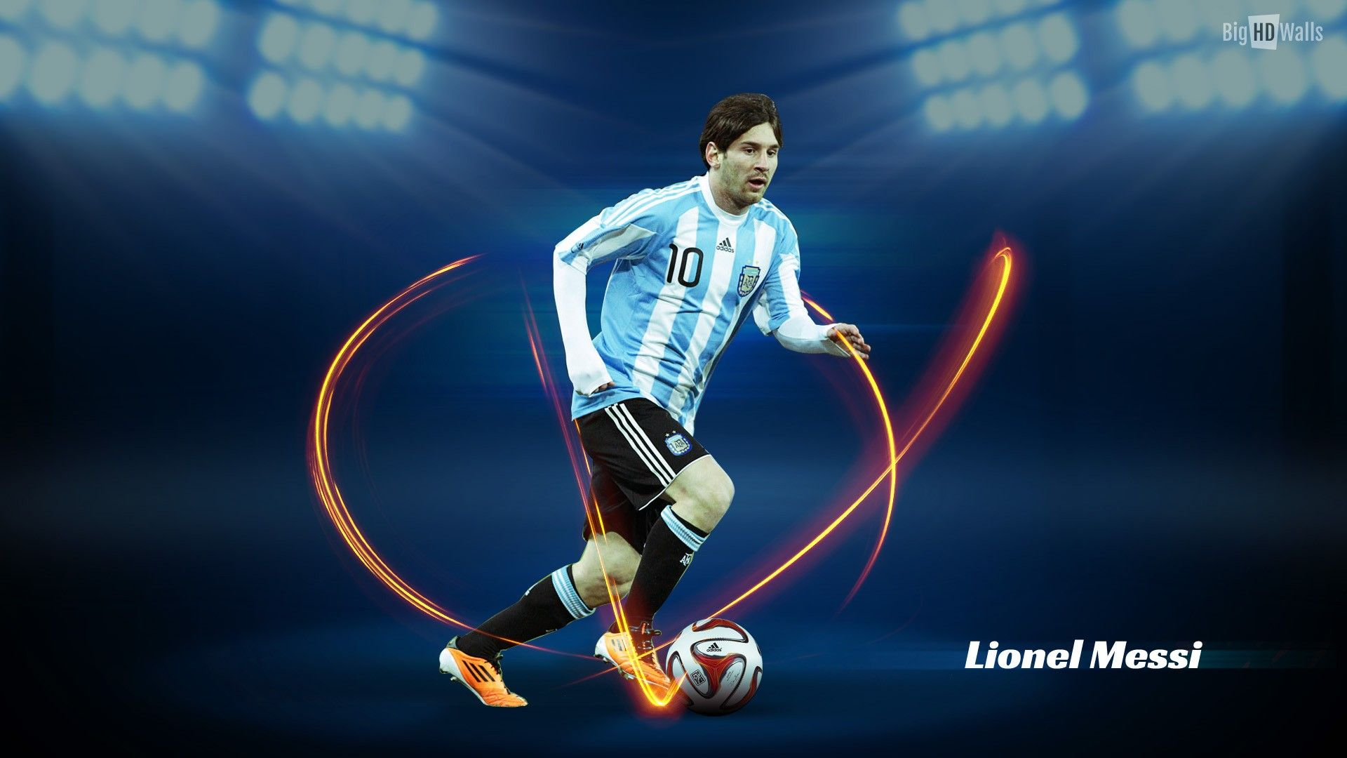 Lionel Messi Argentina HD Wallpaper HD Background Wallpapers Free
