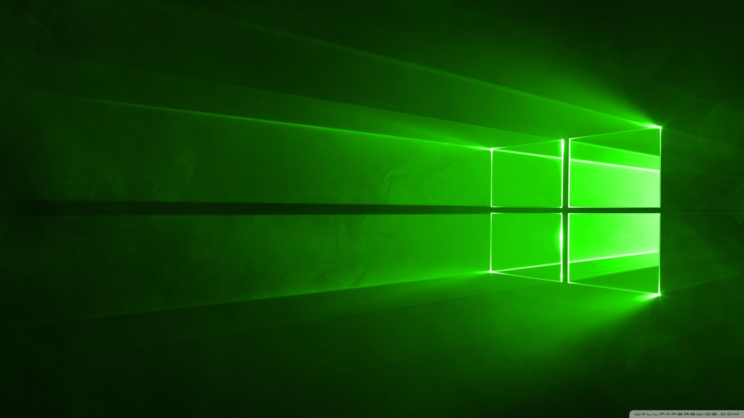 2560x1440 Windows 10 Green ❤ 4K HD fondo de escritorio para • Wide y Ultra