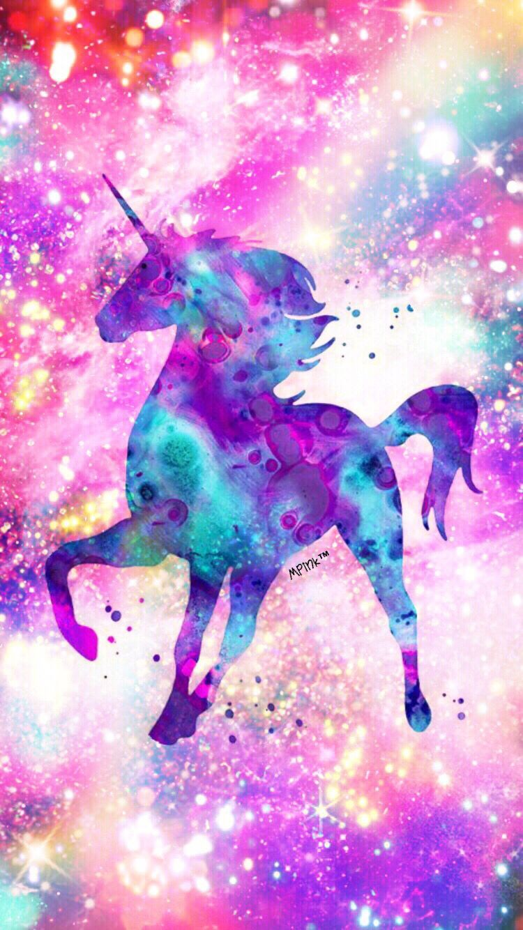 Unicorn Galaxy Wallpaper | Mis creaciones de papel tapiz en 2019 | Unicornio