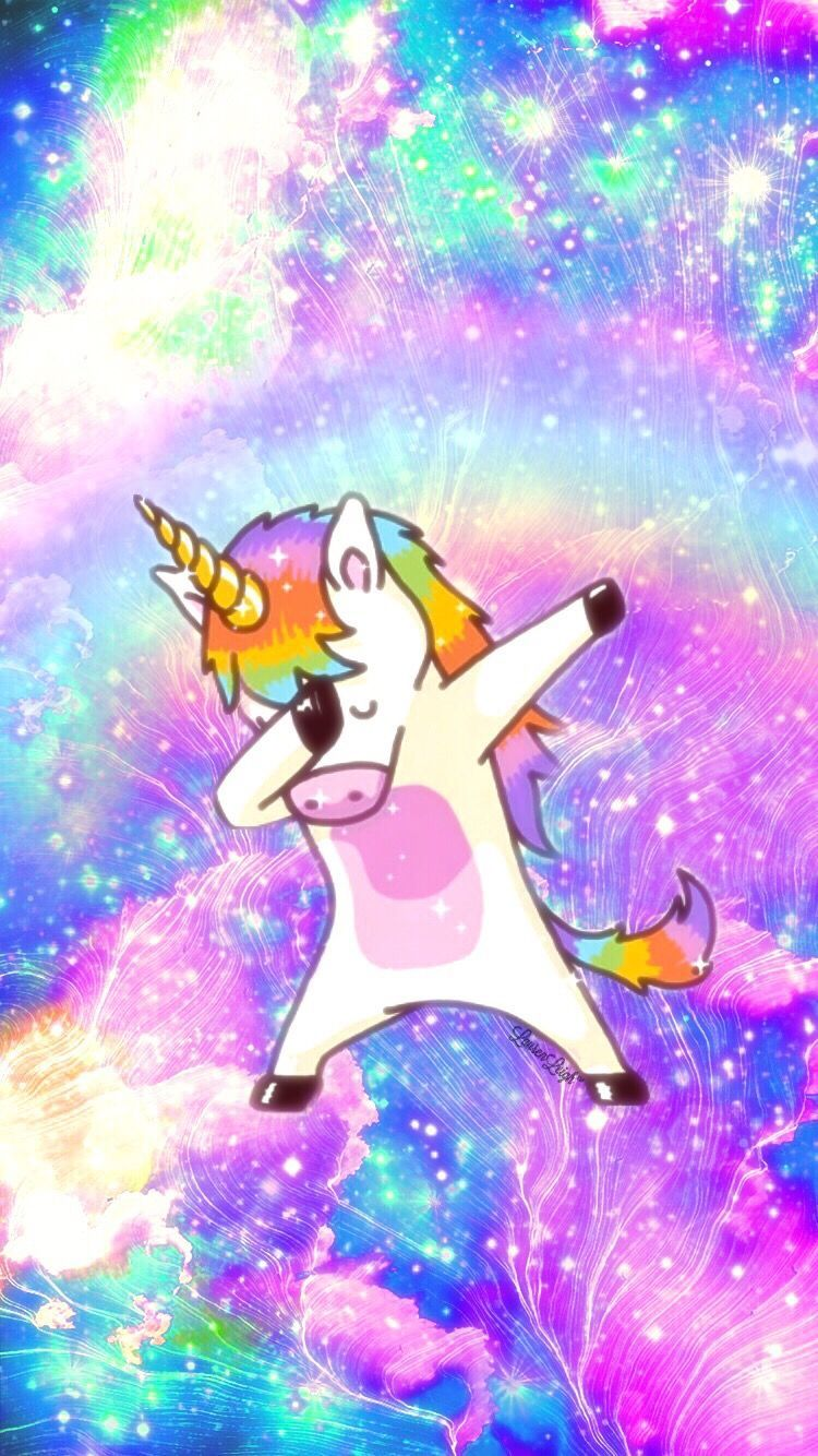 Dabbing Unicorn Wallpapers