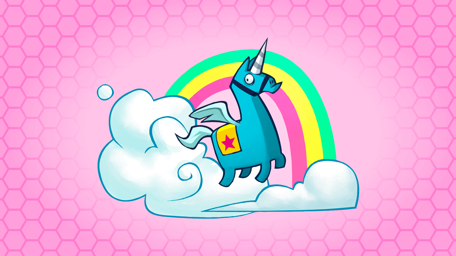 Brite Unicorn Wallpaper, HD y limpio: FortNiteBR