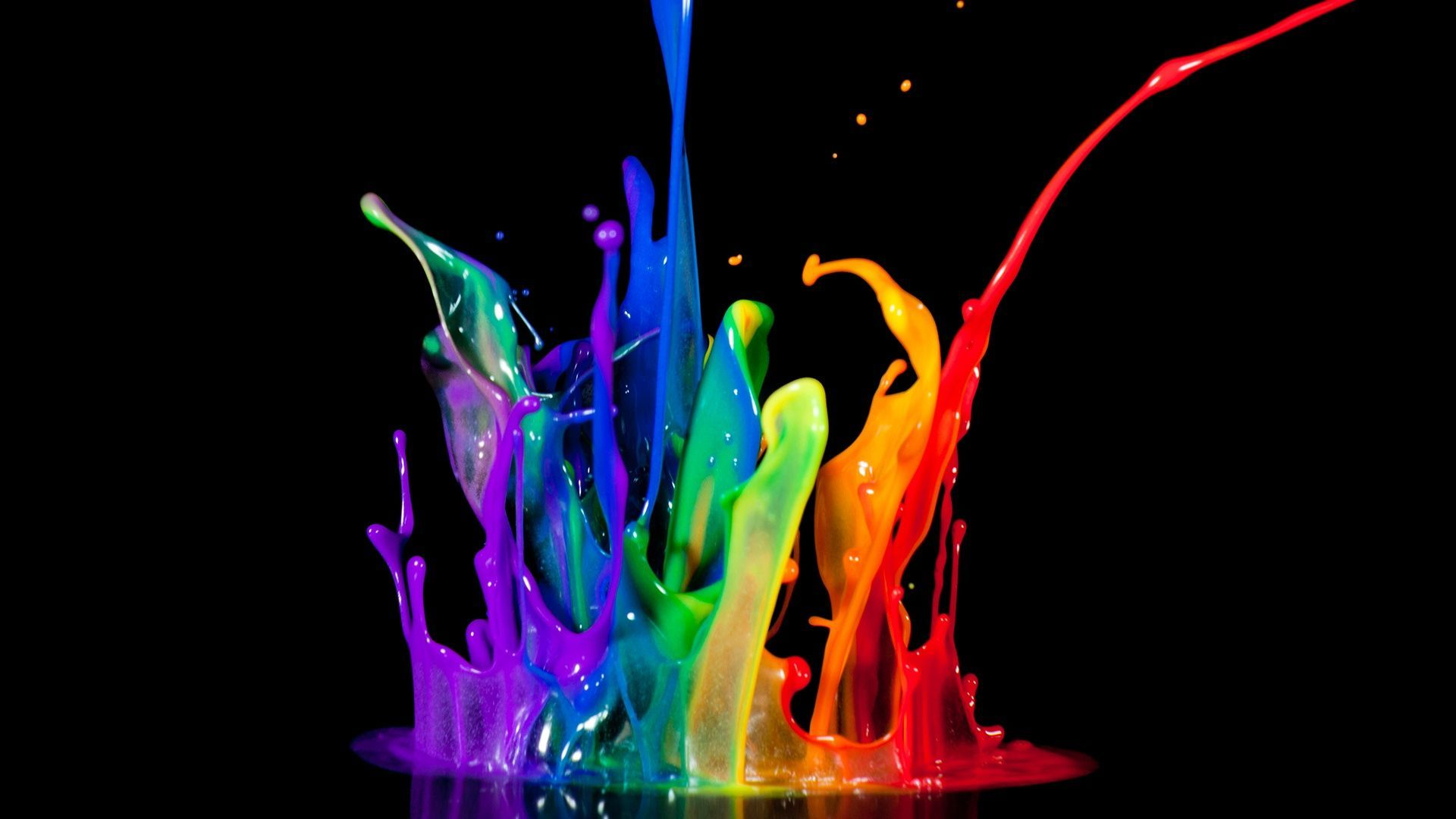 Abstract Colorful HD Wallpaper Fondo de pantalla colorido HD gratis | Colorido