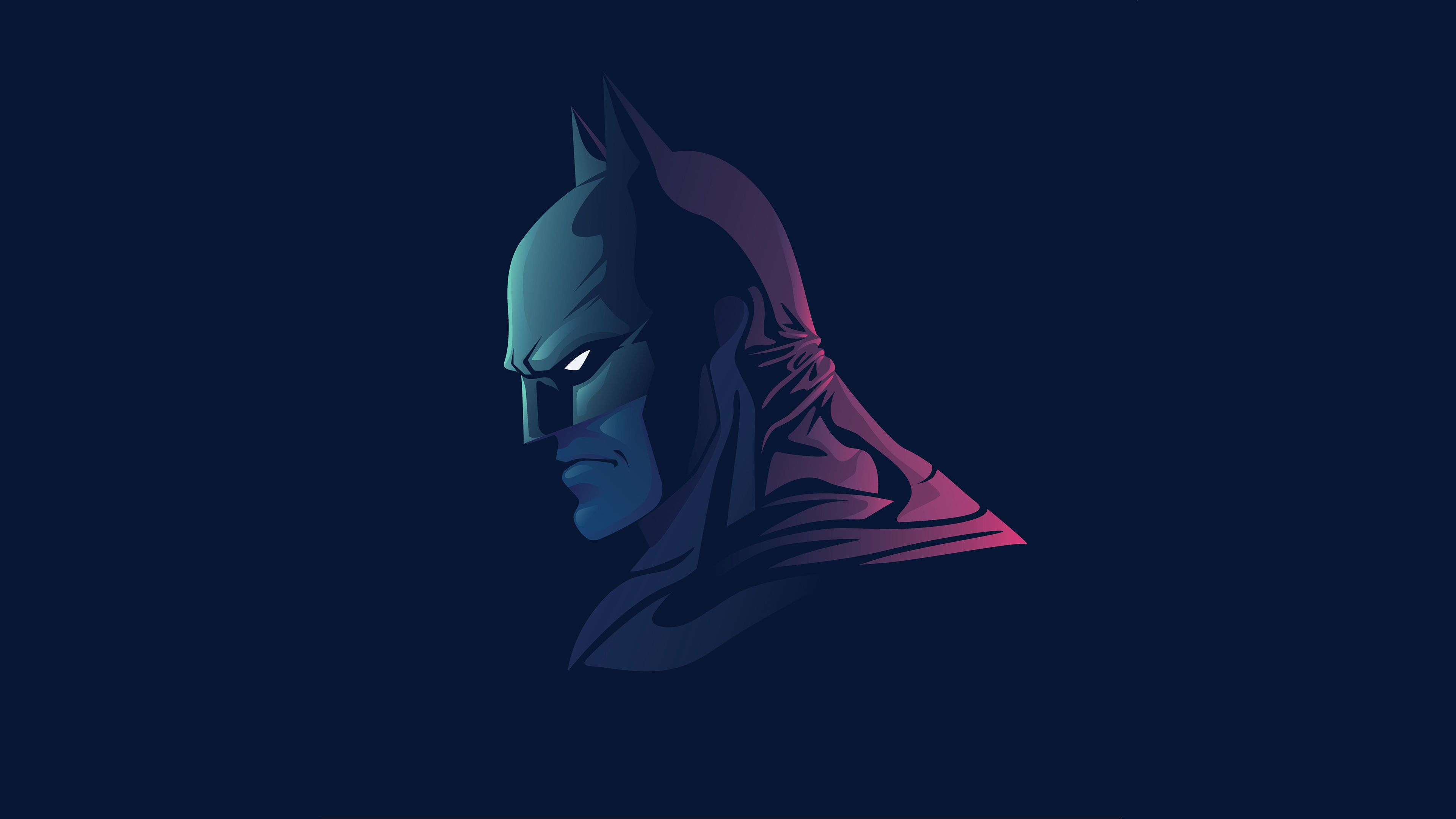 Batman Minimalist Wallpaper 4k Ultra HD ID: 3133