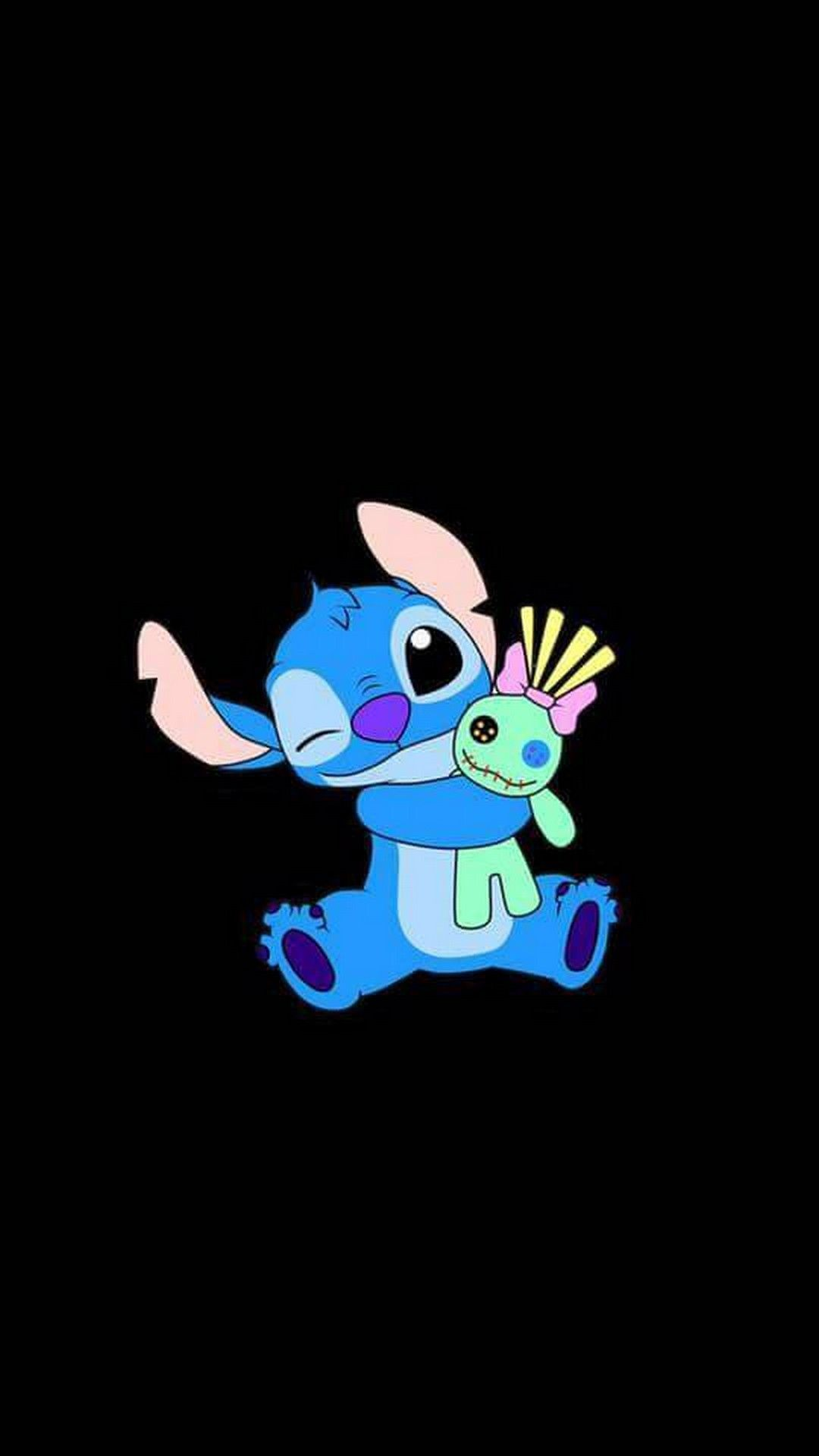 Stitch Hd Wallpapers para móvil - Stitch Wallpaper Iphone Black