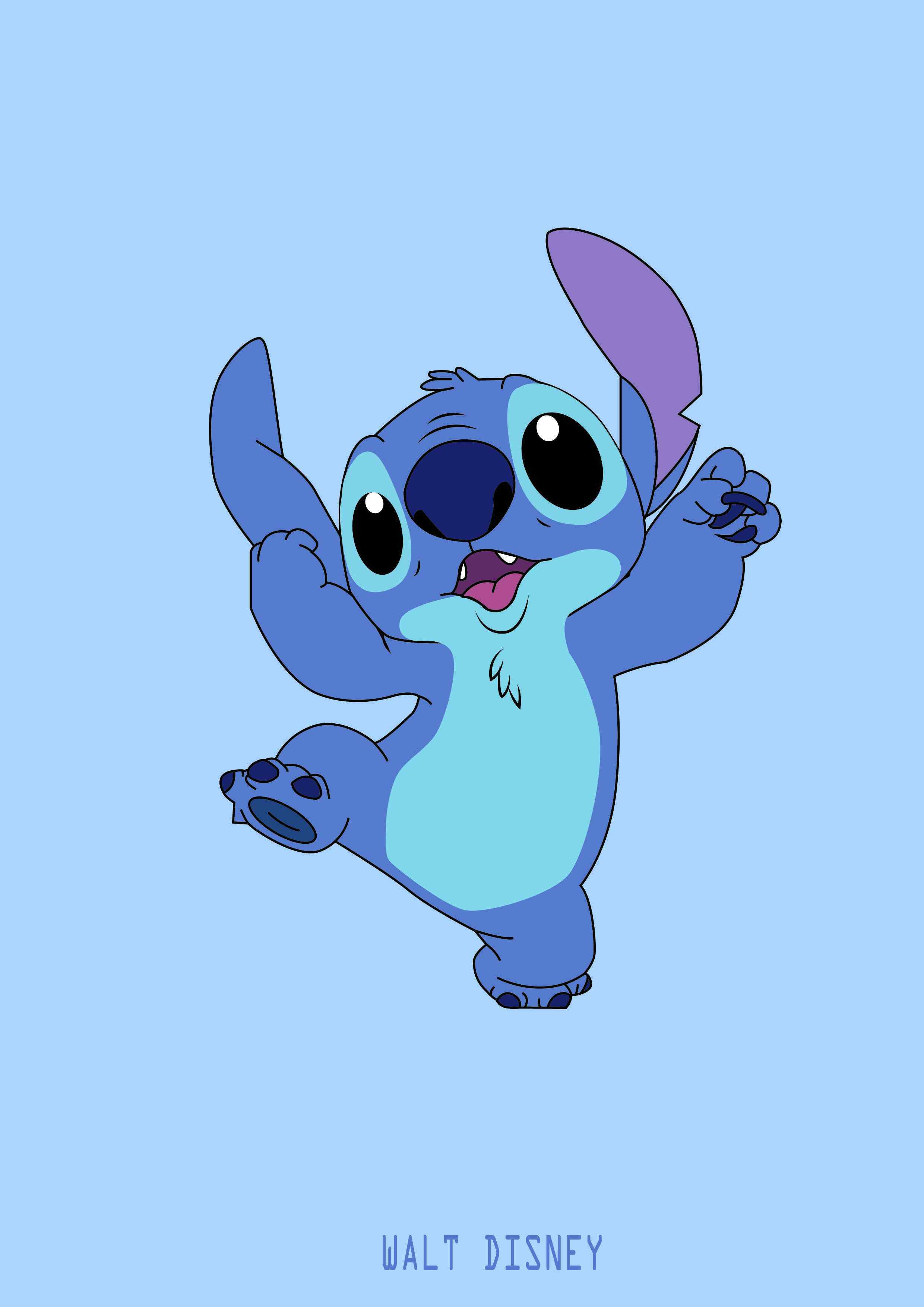Fondos de pantalla iPhone Disney Stitch Wallpapers Fundas para móviles - 스티치, Hd