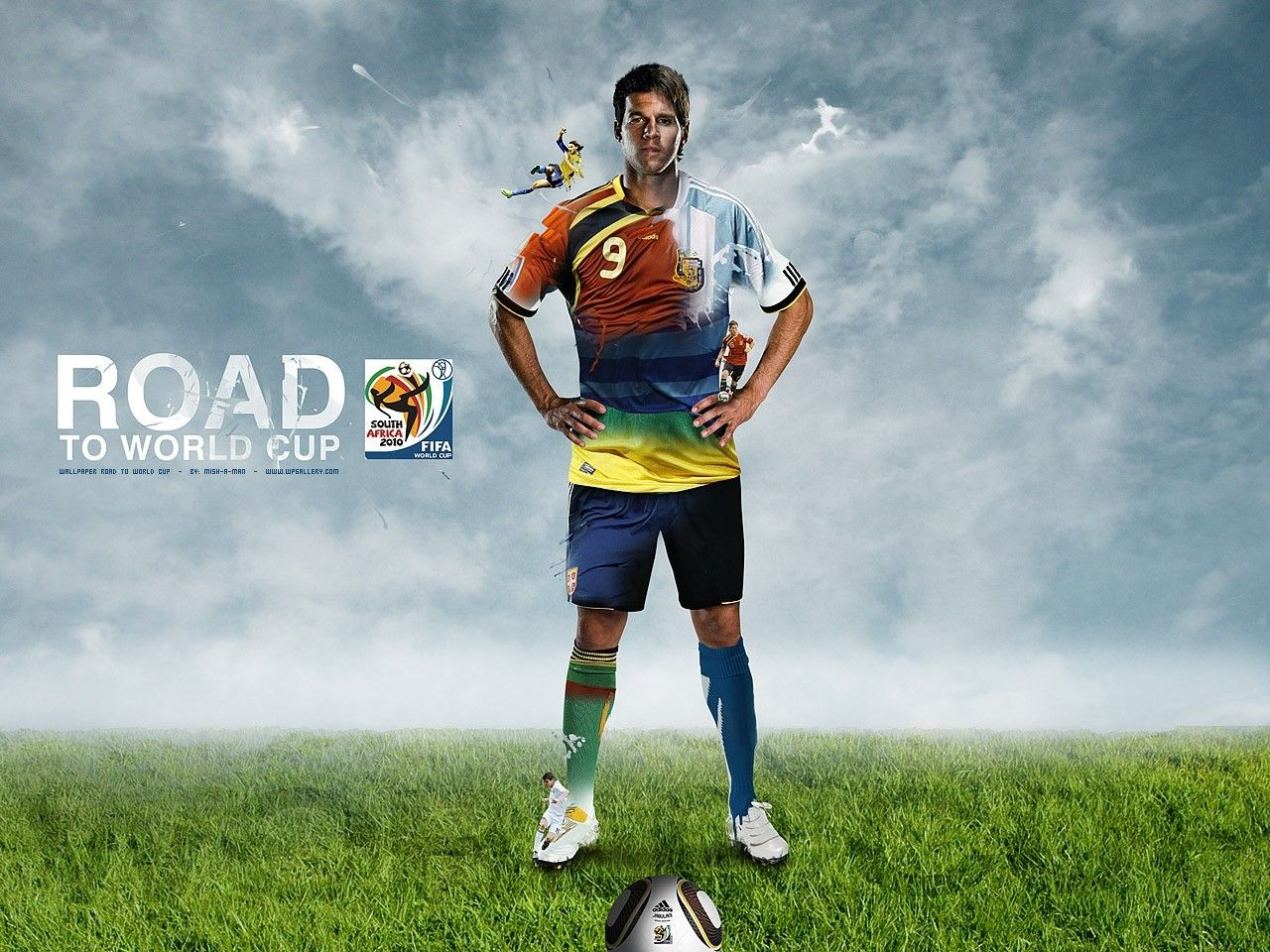 Soccer Wallpaper en newwallpaperdownload.com