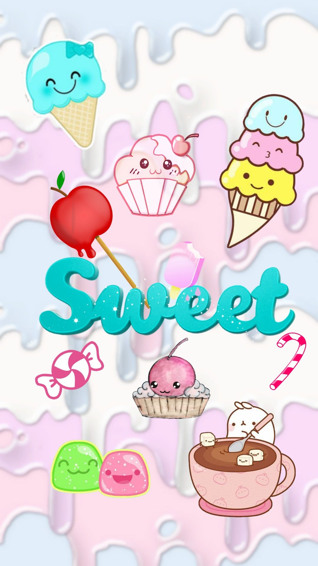 1080x1920 Cute Kawaii Wallpapers (58+), Encuentra fondos de pantalla HD gratis