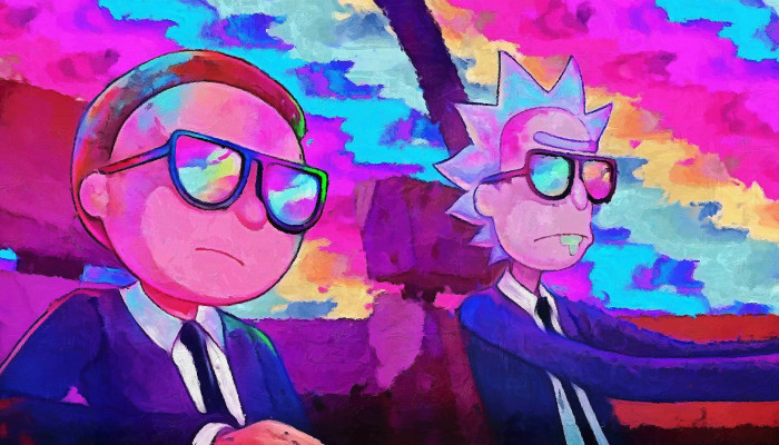 Fondos de Rick y Morty